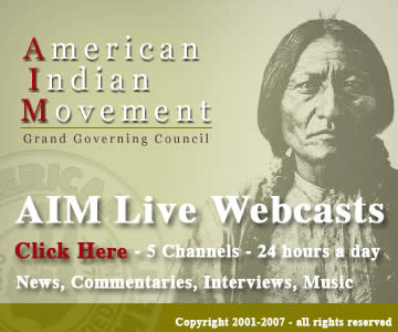 American Indian Movement podcast